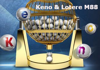 Keno & Lotere M88